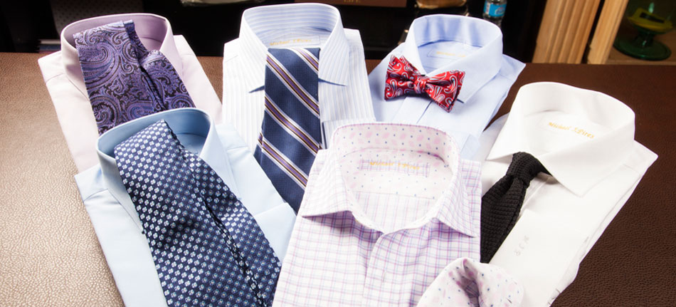 Custom Dress Shirts & Tailored Dress Shirts - Dressed to the Nines ...